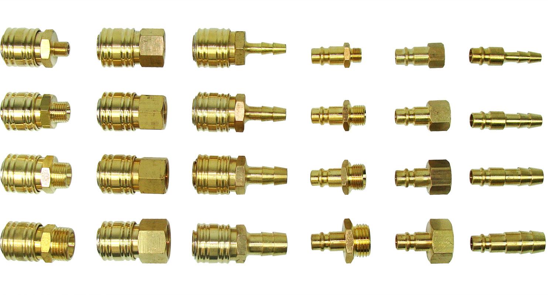 """Druckluft Kupplungen 1//8/"""" Außengewinde Kupplungsstecker Adapter"""